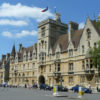 front of Balliol College at Oxford University.
