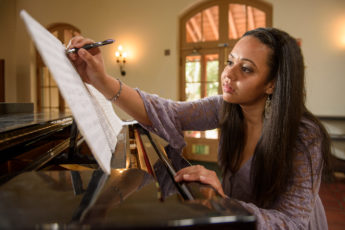 Stephanie Fischer composing