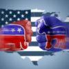 Illustration of Dems vs. GOP