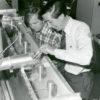 Sidney Self and velocimeter