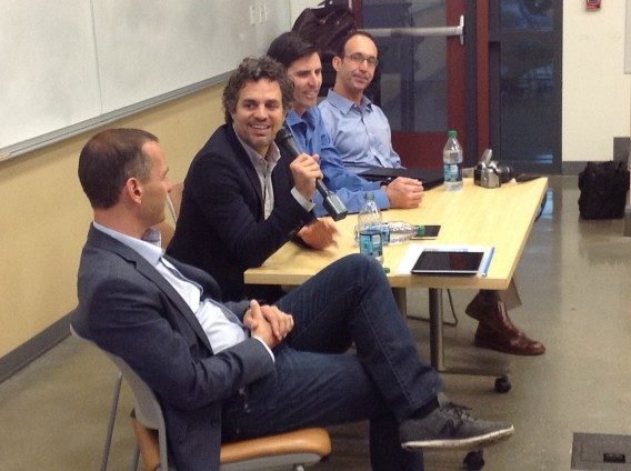 Actor Mark Ruffalo at Stanford