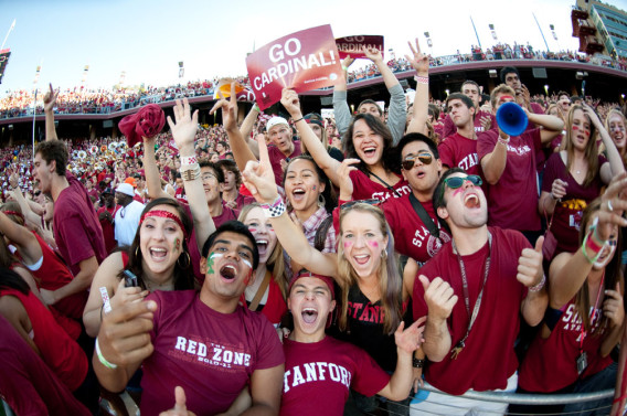 Stanford Stadium will be a pretty exciting place to watch football this year with season tickets sold out for the first time ever.