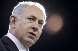 Israeli Prime Minister Benjamin Netanyahu visited the Stanford campus yesterday. (Photo: AP/Carolyn Kaster)