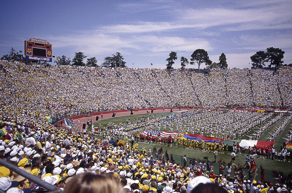 The average attendance at the six matches that were held at Stanford in 1994 was 81,736.