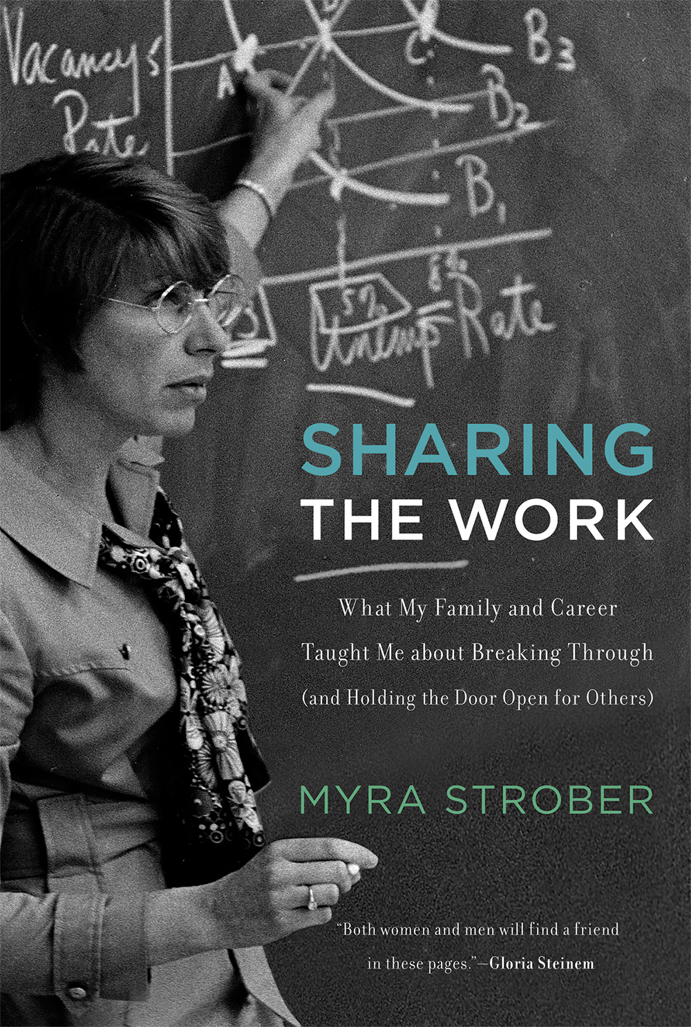 book cover - sharing the work