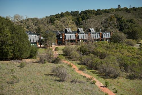 The Sun Field Station at Jasper Ridge Biological Preserve. (Photo credit: L.A. Cicero)