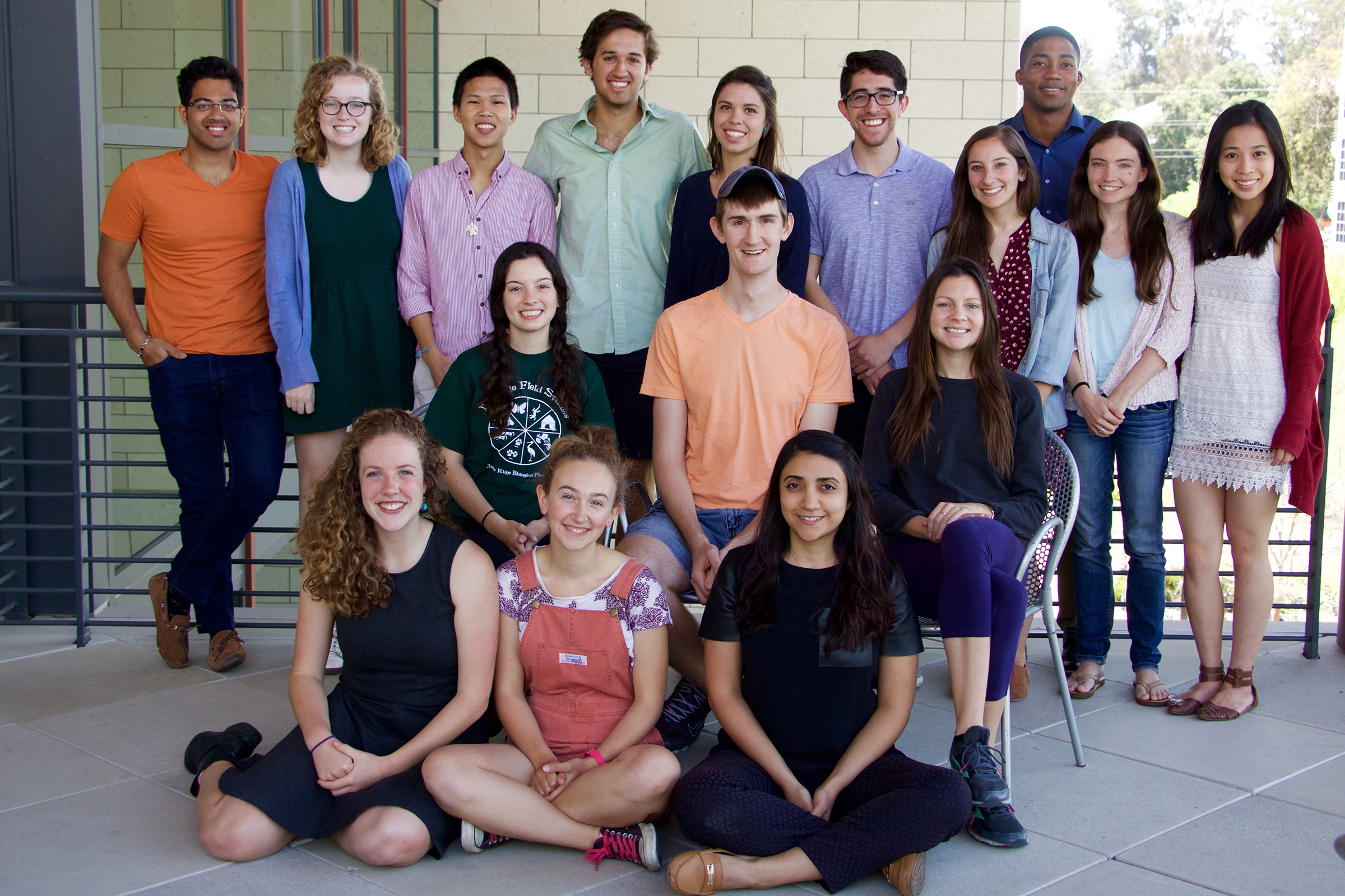 Schneider Fellows 2016. (Photo credit: Peggy Propp)