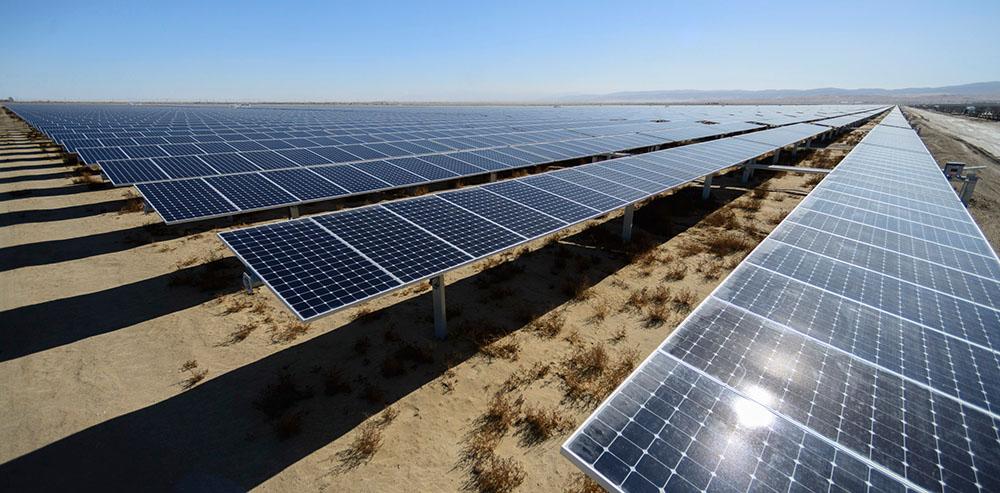 solar generating plant