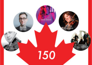 Canada Day at Stanford Live logo