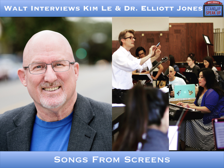 Walt Interviews Kim Le & Dr. Elliott Jones – Songs From Screens