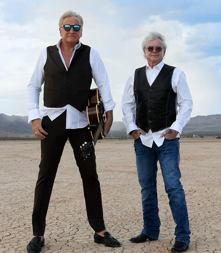 Air Supply lead vocalist Russell Hitchcock in studio