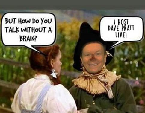 WEEKEND SHOW!!  Watch now.  Free and Brainless Entertainment from DAVE PRATT LIVE!