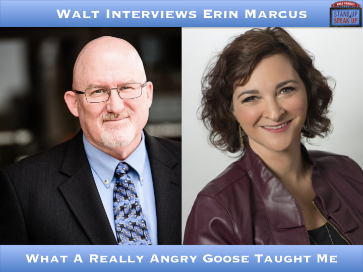 Walt Interviews Erin Marcus – What A Really Angry Goose Taught Me