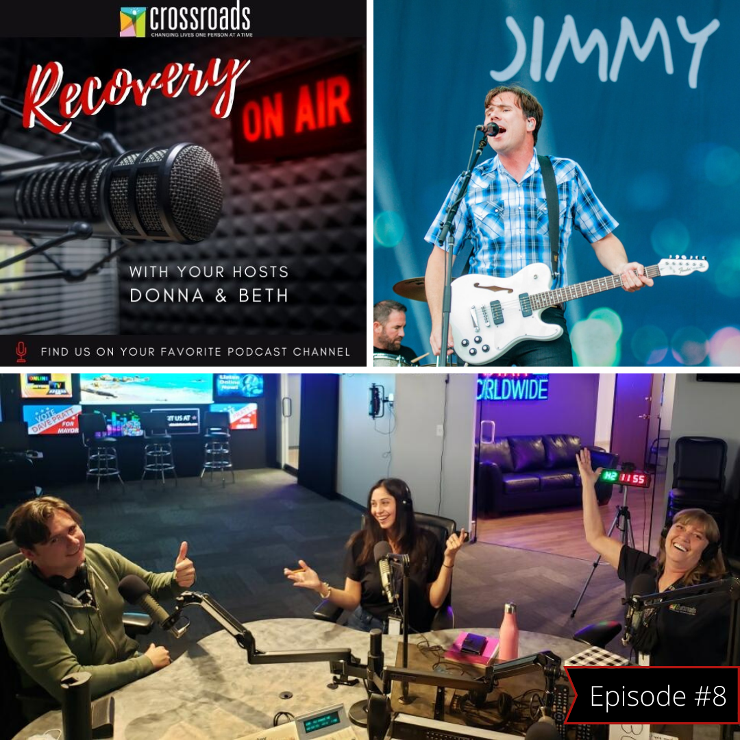 Celebrity guest Jim Adkins from Jimmy Eat World talks recovery