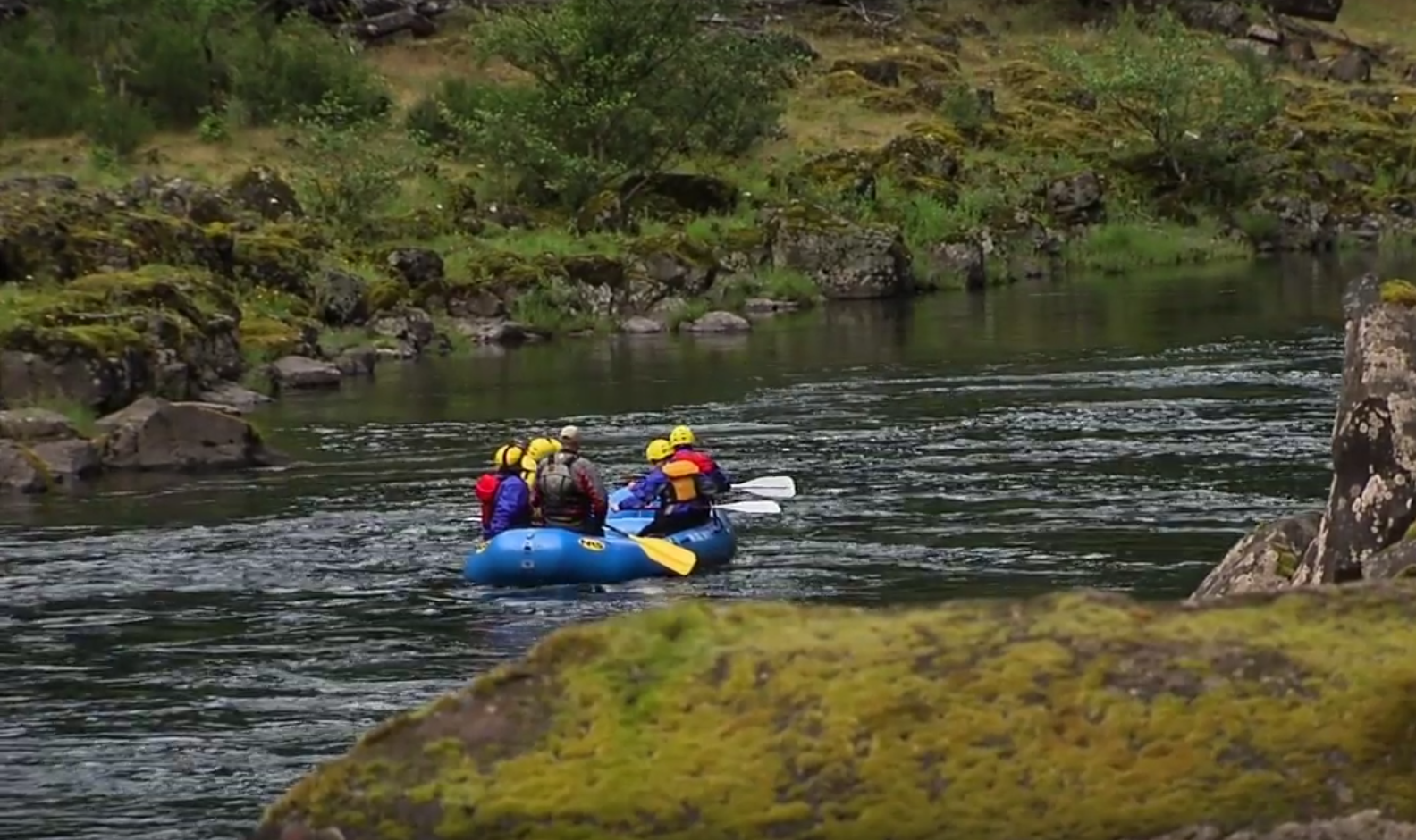 Oregon Clackamas River Rafting
