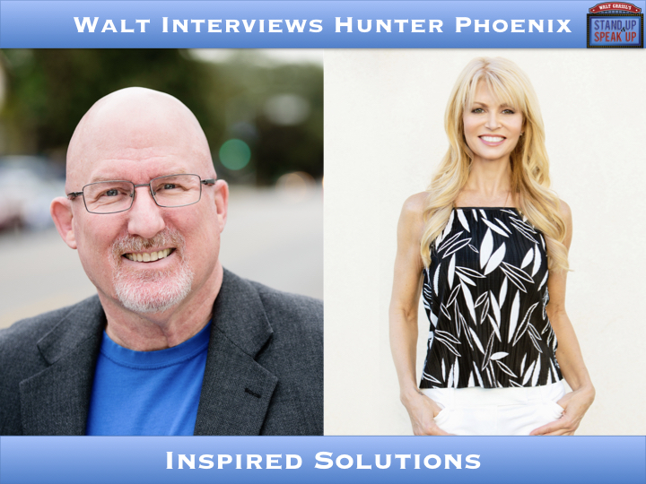 Walt Interviews Hunter Phoenix – Inspired Solutions