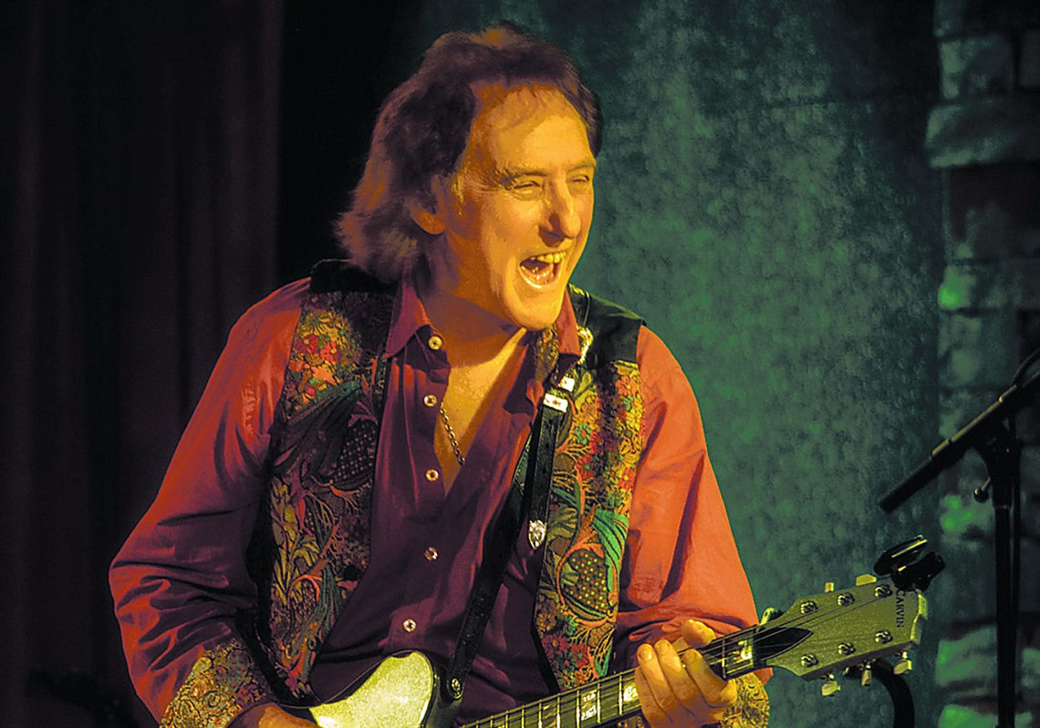 Denny Laine of Wings and The Moody Blues