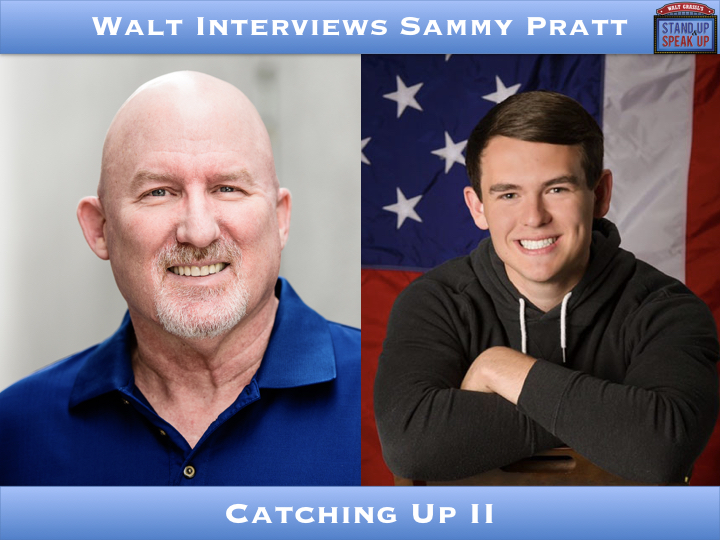 Walt interviews Sammy Pratt – Catching Up II