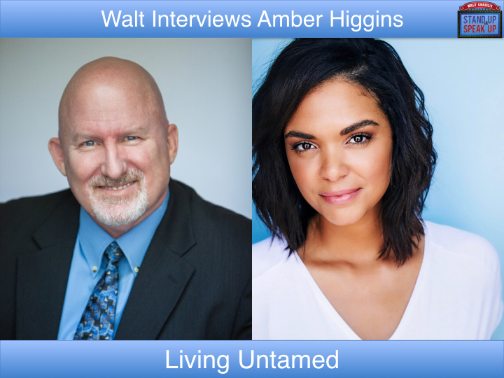 Walt Grassl interviews Amber Higgins – Living Untamed