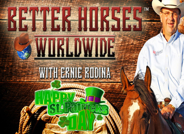 Better Horses Radio Worldwide with Ernie Rodina/Ed Admans and guests Frank Slaughter, Josh Rushing, Susan Patten, Cade Swor, and Harold Wingert - March 17th 2018