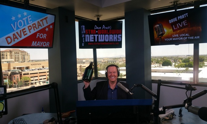 WATCH NOW!!! Dave Pratt LIVE! The Mayor gets Jugs O' Love from loyal viewers