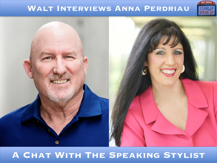 Walt Interviews Anna Perdriau – A Chat With The Speaking Stylist