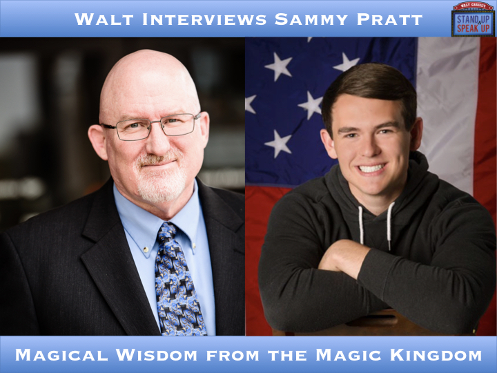 Walt interviews Sammy Pratt – Magical Wisdom from the Magic Kingdom