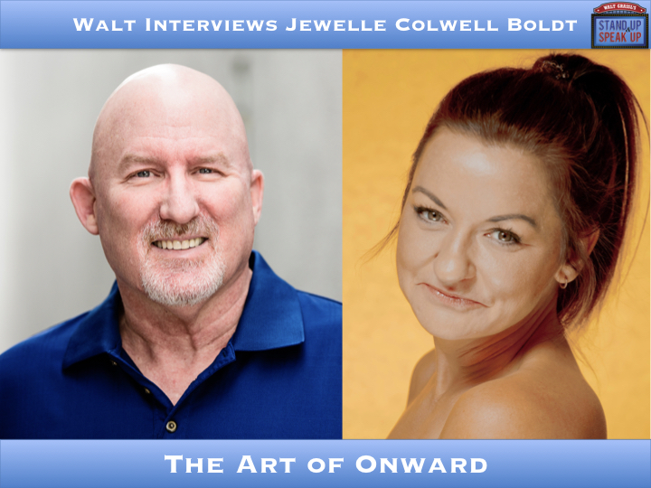 Walt Interviews Jewelle Colwell Boldt – The Art of Onward