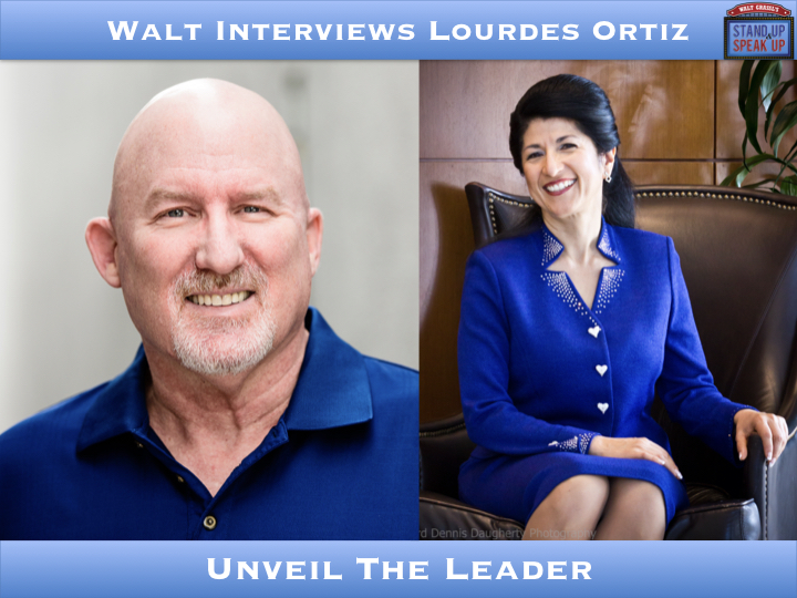 Walt Interviews Lourdes Ortiz – Unveil The Leader