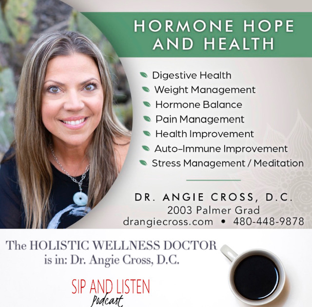 The HOLISTIC WELLNESS DOCTOR is in: Dr. Angie Cross, D.C.