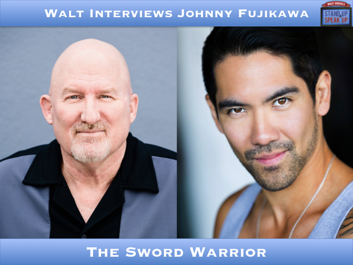 Walt Interviews Johnny Fujikawa – The Sword Warrior