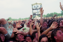 Lollapaloooza 1.0 hits Stanhope, NJ on August 14, 1991 / Photo by Ebet Roberts