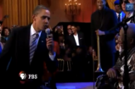 See Obama Sing the Blues With Mick Jagger, B.B. King, and Buddy Guy