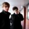 From left: Simian Mobile Disco's Jas Shaw and James Ford