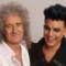 Brian May and Adam Lambert