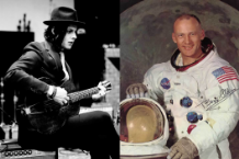 Jack White (Jo McCaughey) / Buzz Aldrin (Photo Courtesy NASA)