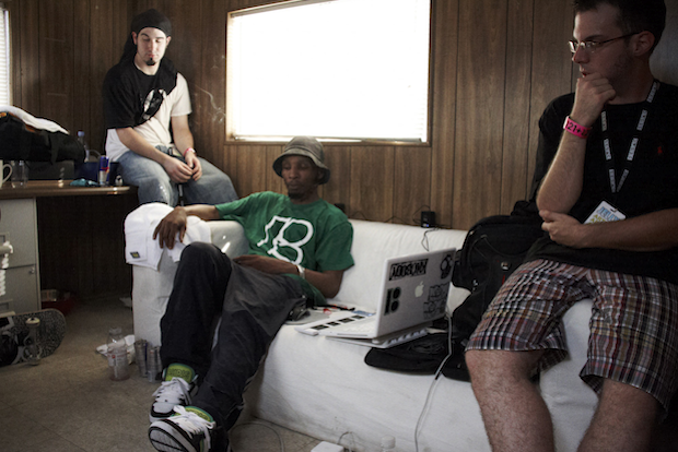 Del the Funky Homosapien & Parallel Thought/ Photo by Dan Dealy