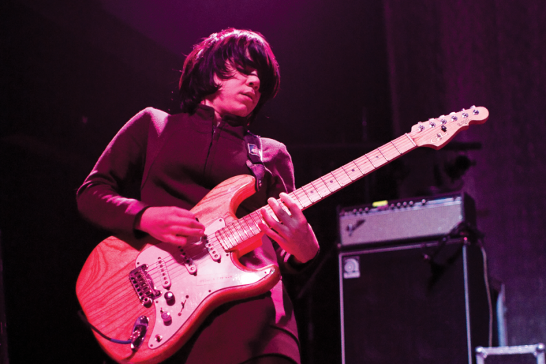 Marissa Paternoster of Screaming Females / Photo by Francis Chung
