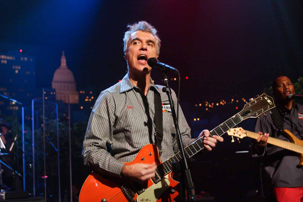 David Byrne on 'ACL' / Photo by Scott Newton