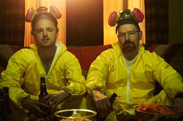 Aaron Paul and Bryan Cranston / Photo courtesy AMC