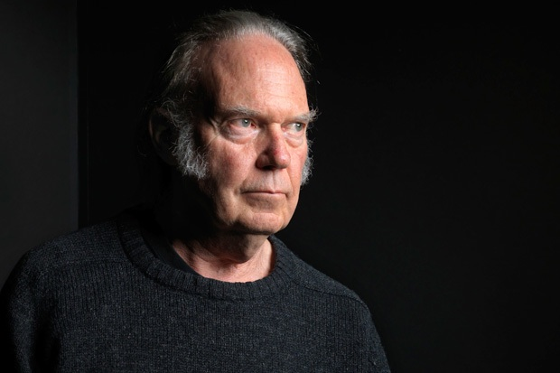 Neil Young in January 2012 / Photo by Victoria Will/AP/Corbis