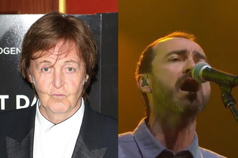 Paul McCartney and the Shins' James Mercer