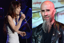 Fiona Apple & Anthrax's Scott Ian ( Larry Marano/Getty & Paul A. Hebert/Getty)