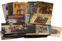 Joey Ramone's record collection