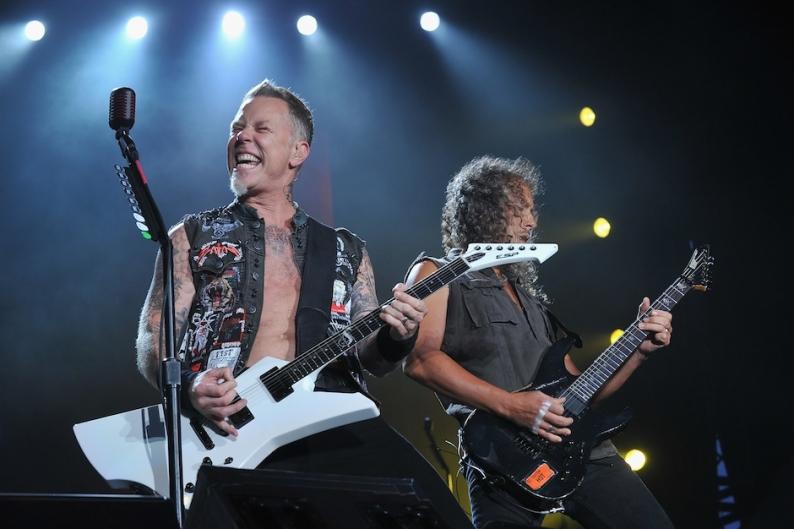 Metallica, James Hetfield, Kirk Hammett