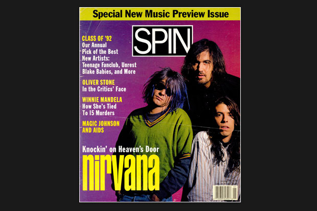 Nirvana SPIN Cover January 1992
