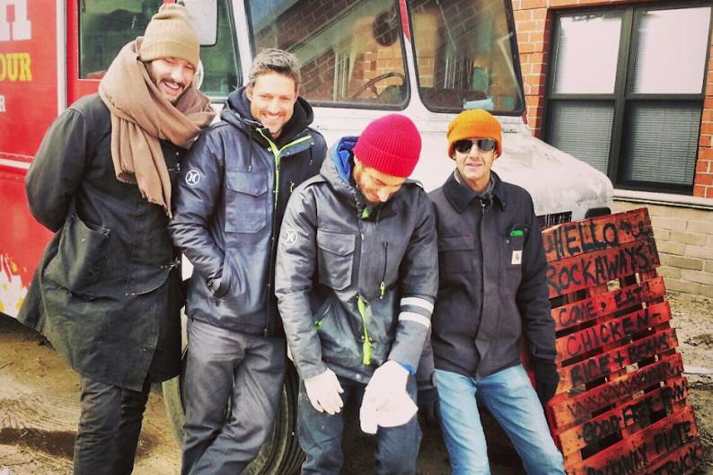 Beastie Boys, Mike D, Rockaway Plate Lunch truck