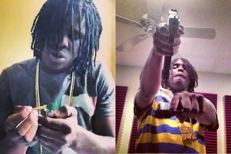 Chief Keef Arrested Served Charged Courthouse