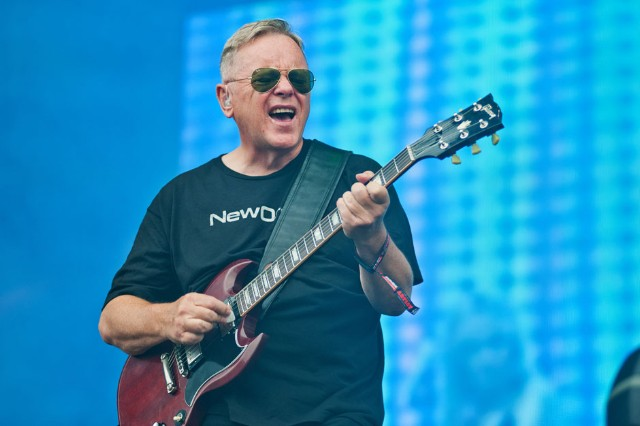 New Order at Lollapalooza, Chicago, August 2, 2013