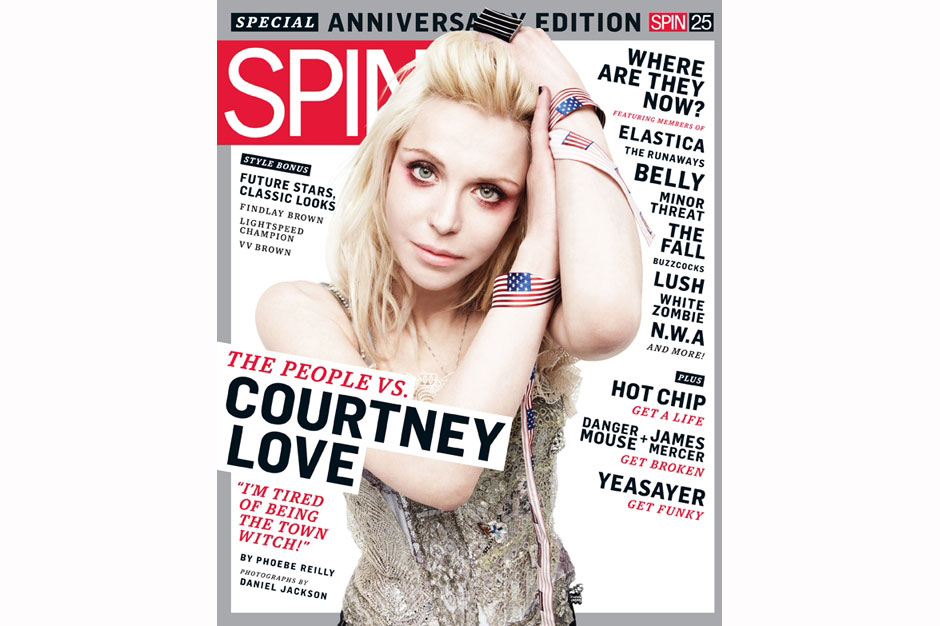 Courtney Love / Photographed for SPIN by Daniel Jackson